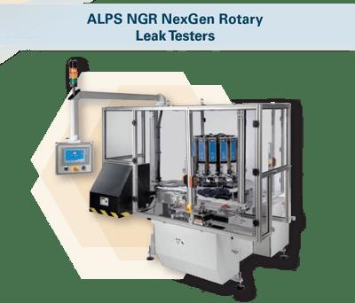 ALPS NGR NexGen Rotary  Leak Testers
