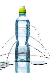 Water bottle leaking